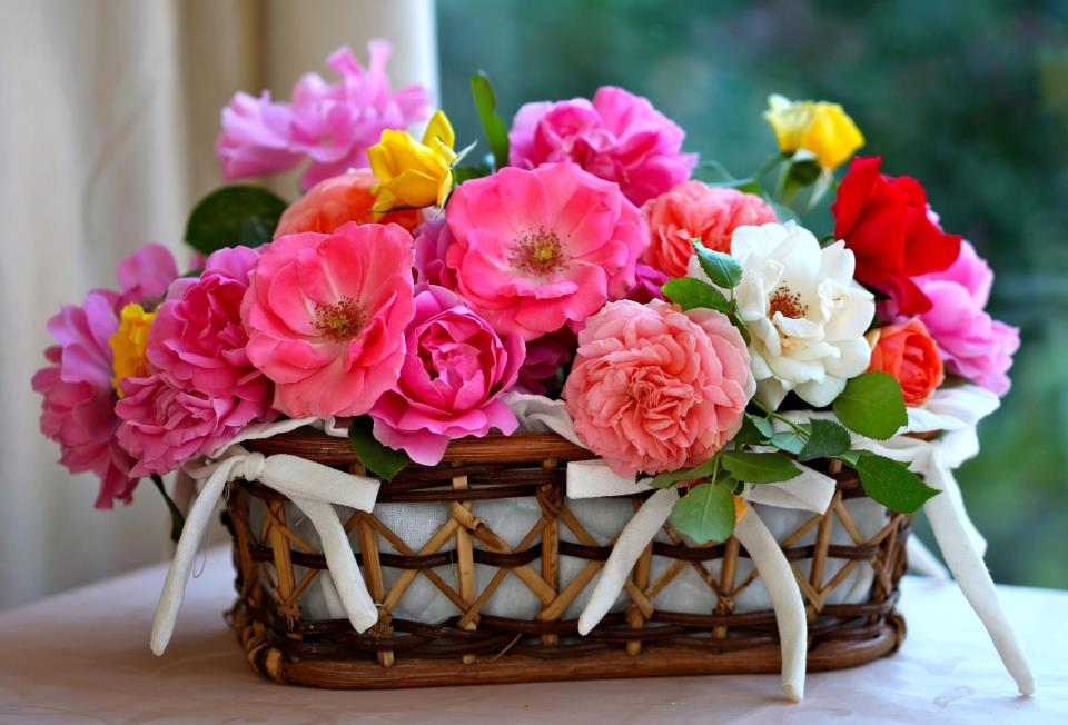 Открытка цветов на 8 марта
