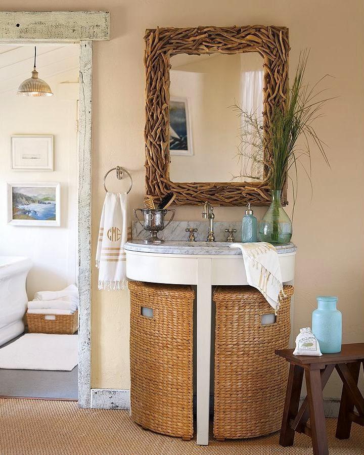 BOISERIE & C.: 25 idee per trasformare un piccolo bagno
