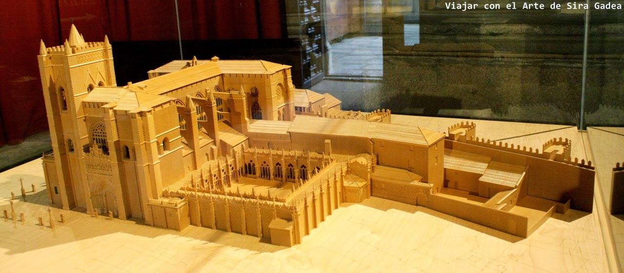 Catedral Ávila maqueta