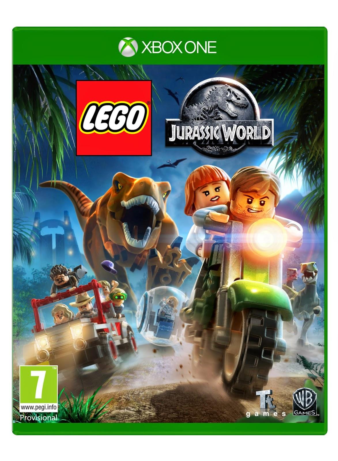 jurassic world game xbox 360