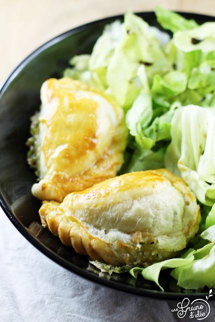 Empanadas Brie de Meaux Herbes