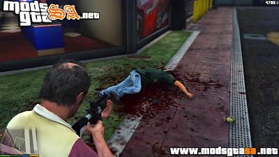 V - Sangue Extremo para GTA V PC