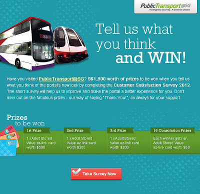 Contest Type:Online Prize: 1st Prize - Adult Stored Value ez-link card worth ...