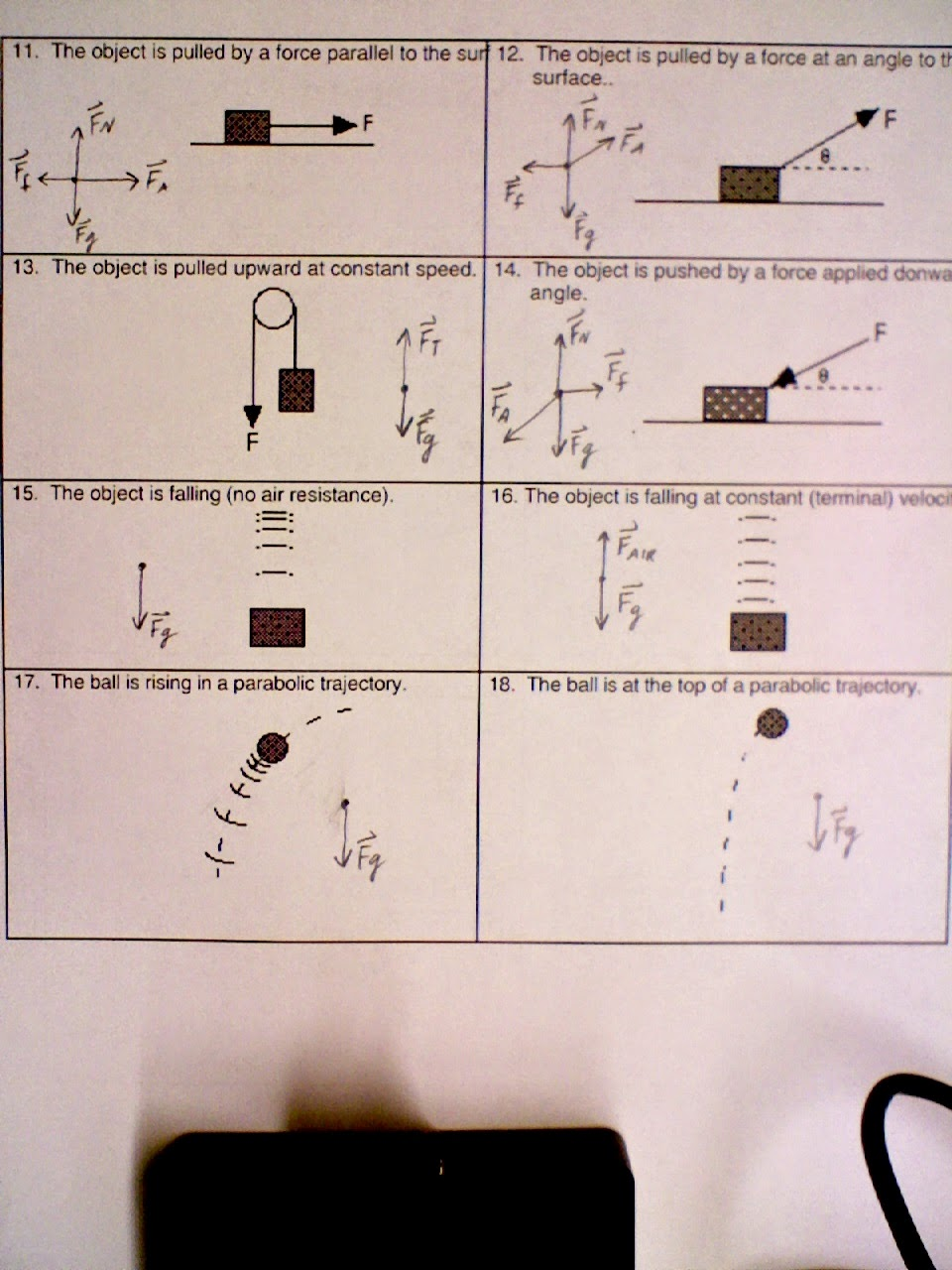 Grade 11 Physics Oct 8 Newtons First Law and Inertia – Inertia Worksheet
