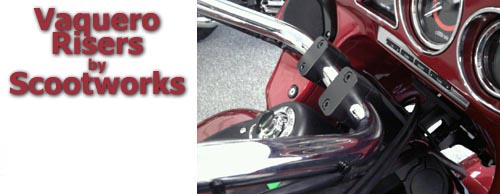 Scootworks SWR 30W8 for the Vaquero   Scootworks Motorcycle Parts