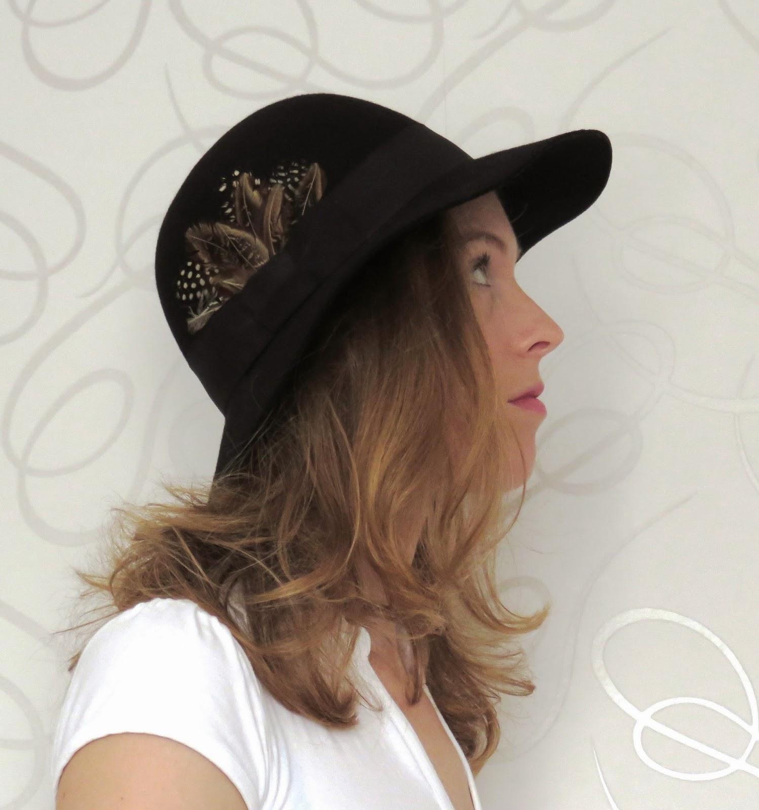 boho hat feathers bohemien boho hoed met veren bohemienne