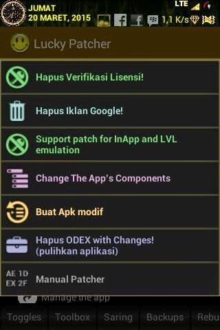 Cara Mudah Menggunakan Lucky Patcher untuk MOD Game Android