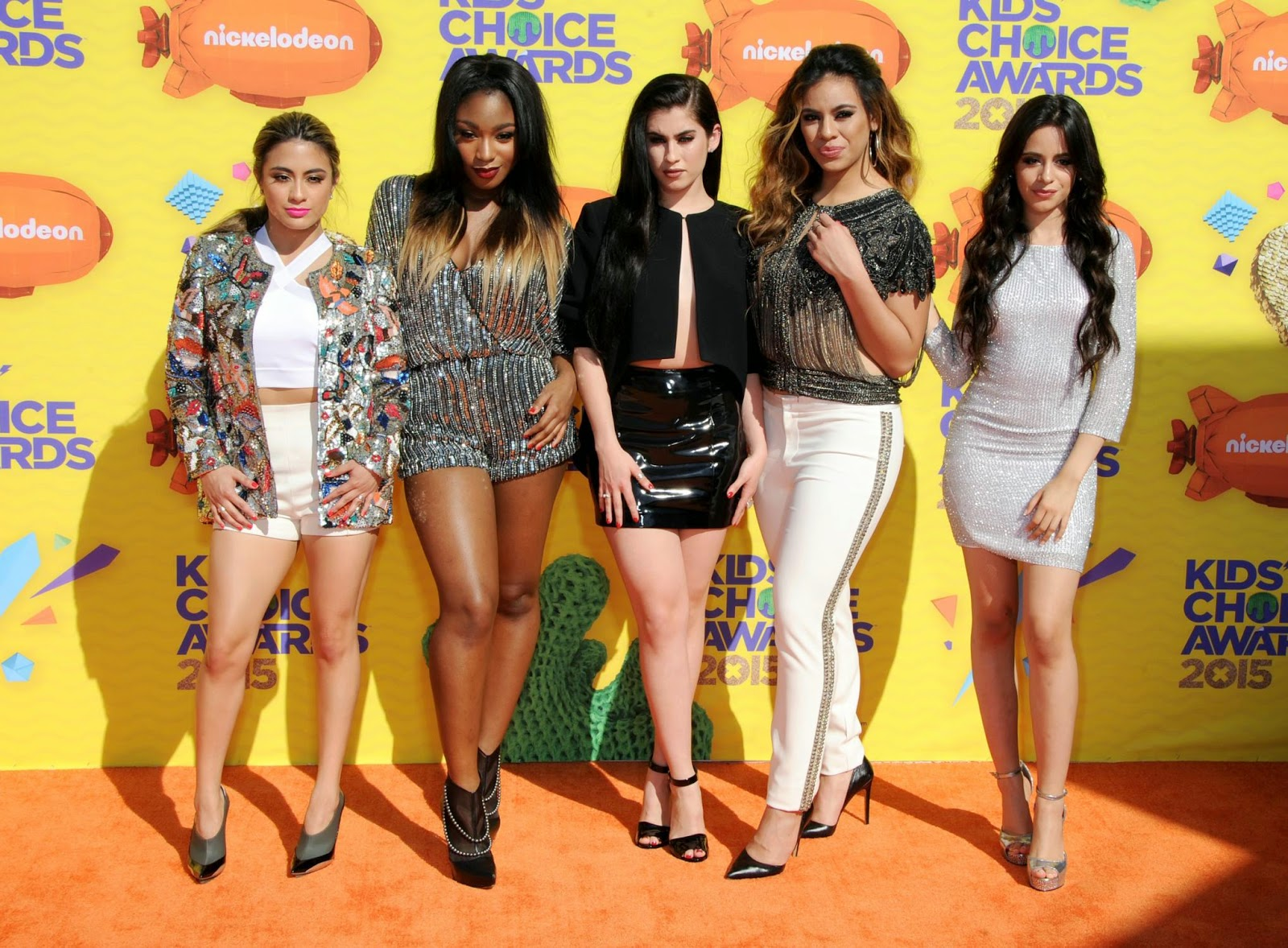Fifth Harmony attend the 2015 Nickelodeon Kids' Choice Awards