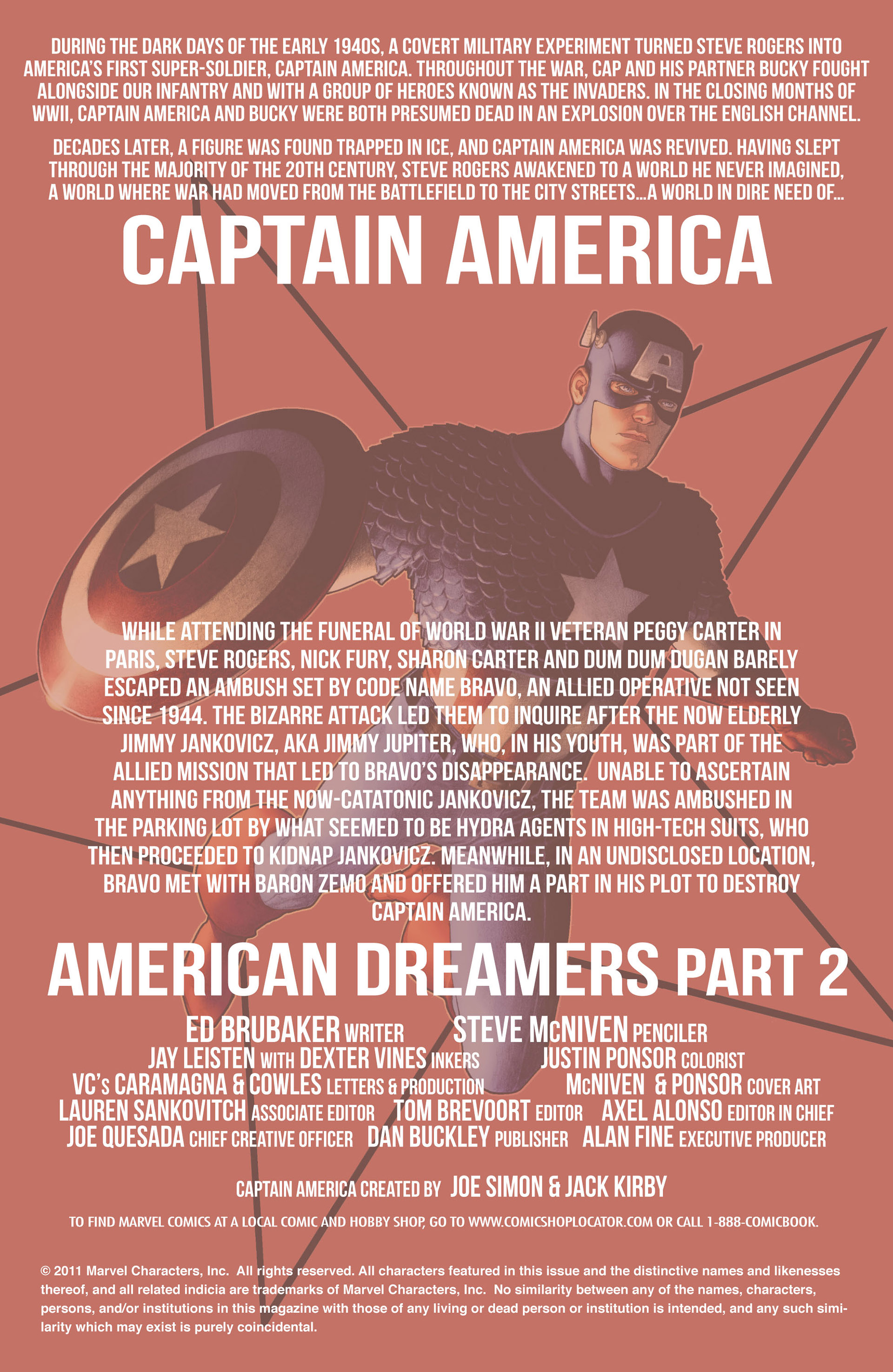 Captain America (2011) Issue #2 #2 - English 2