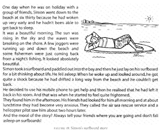 continuous writing essay story