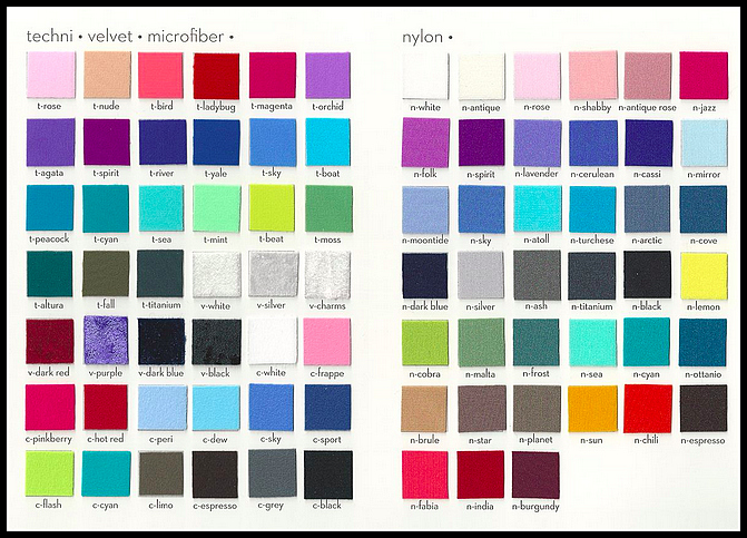 Fabric Colors for 2015