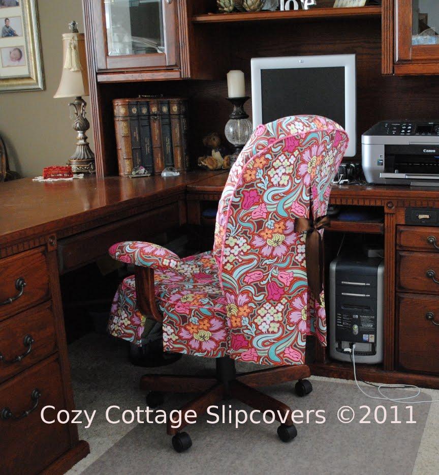 Disco flower office chair