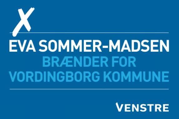 Eva Sommer-Madsen         VENSTRE Vordingborg  #ESMVV