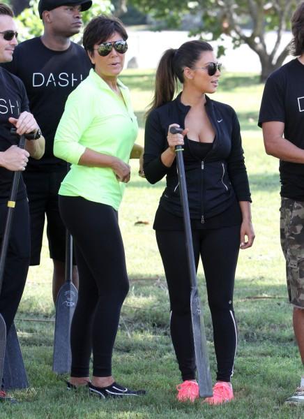 Kris Jenner Reacts To Kim Kardashian's Pregnancy, Then Orders Her ...
