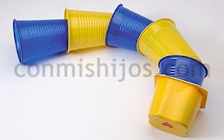 Reciclatex Cómo hacer un dragón chino con vasos de plástico