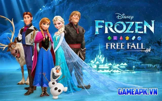 Frozen Free Fall v2.4.0 hack full cho Android