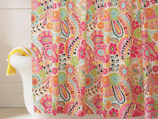 Colorful Shower Curtains Design Ideas 2012 | Modern Furniture Deocor