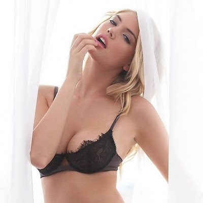 Kate Upton Busty Hot Jenna Leigh Sexy Lingerie