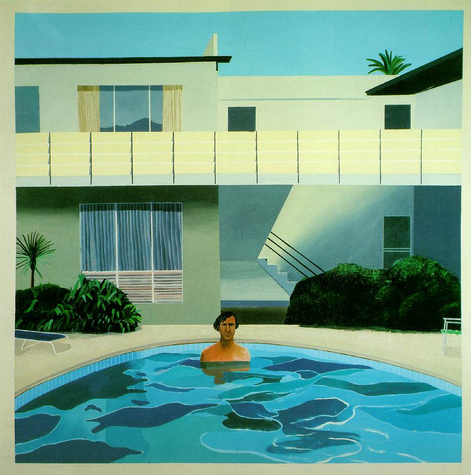 Inspirational imagery david hockney - David hockney swimming pool paintings ...