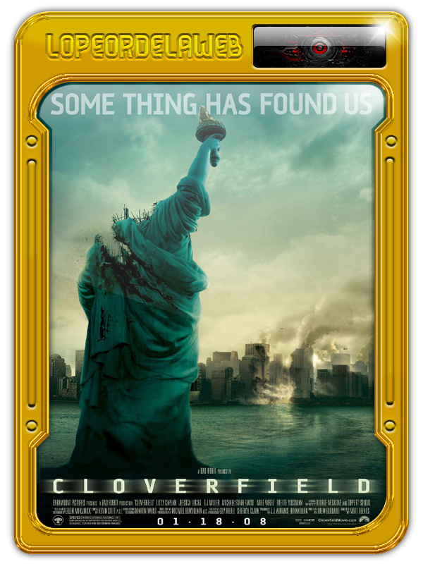 Cloverfield (2008) [BrRip-720p-Dual-Mega]