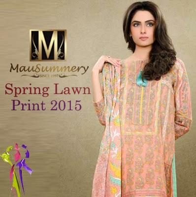 Mausummery Spring Lawn Prints 2015 Vol 1