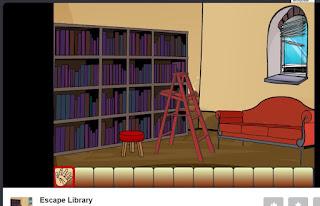 http://www.juegos.com/juego/escape-library