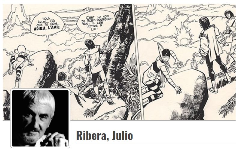 Œuvres de Julio Ribera