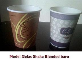 Model Gelas Shake Blended yg baru