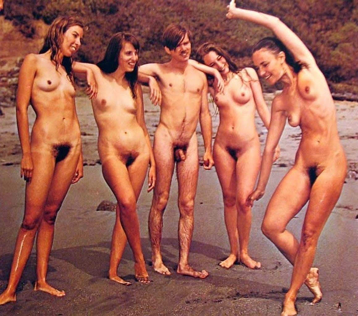 Nudist amateur family amusing