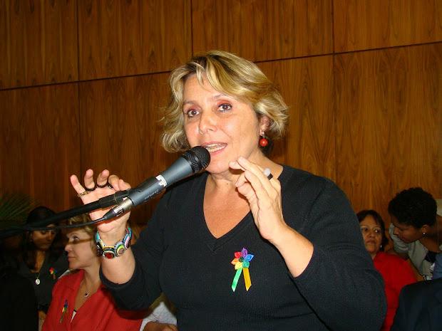 Deputada federal Erika Kokay (Foto: Hernanny Queiroz/Arquivo/Gay1)