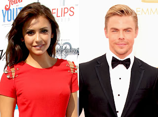 Nina-Dobrev-Derek-Hough-salen-juntos-The-Vampire-Diaries