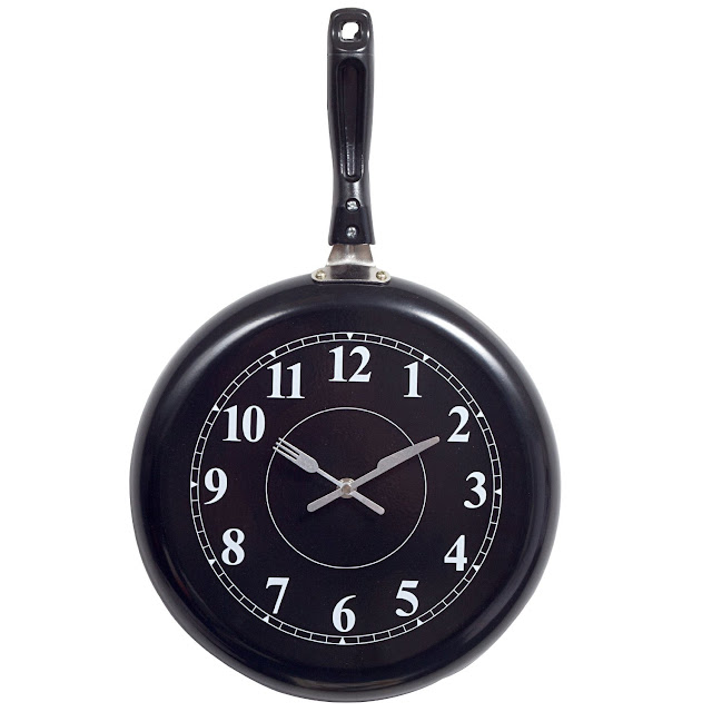 Pan Wall Clock