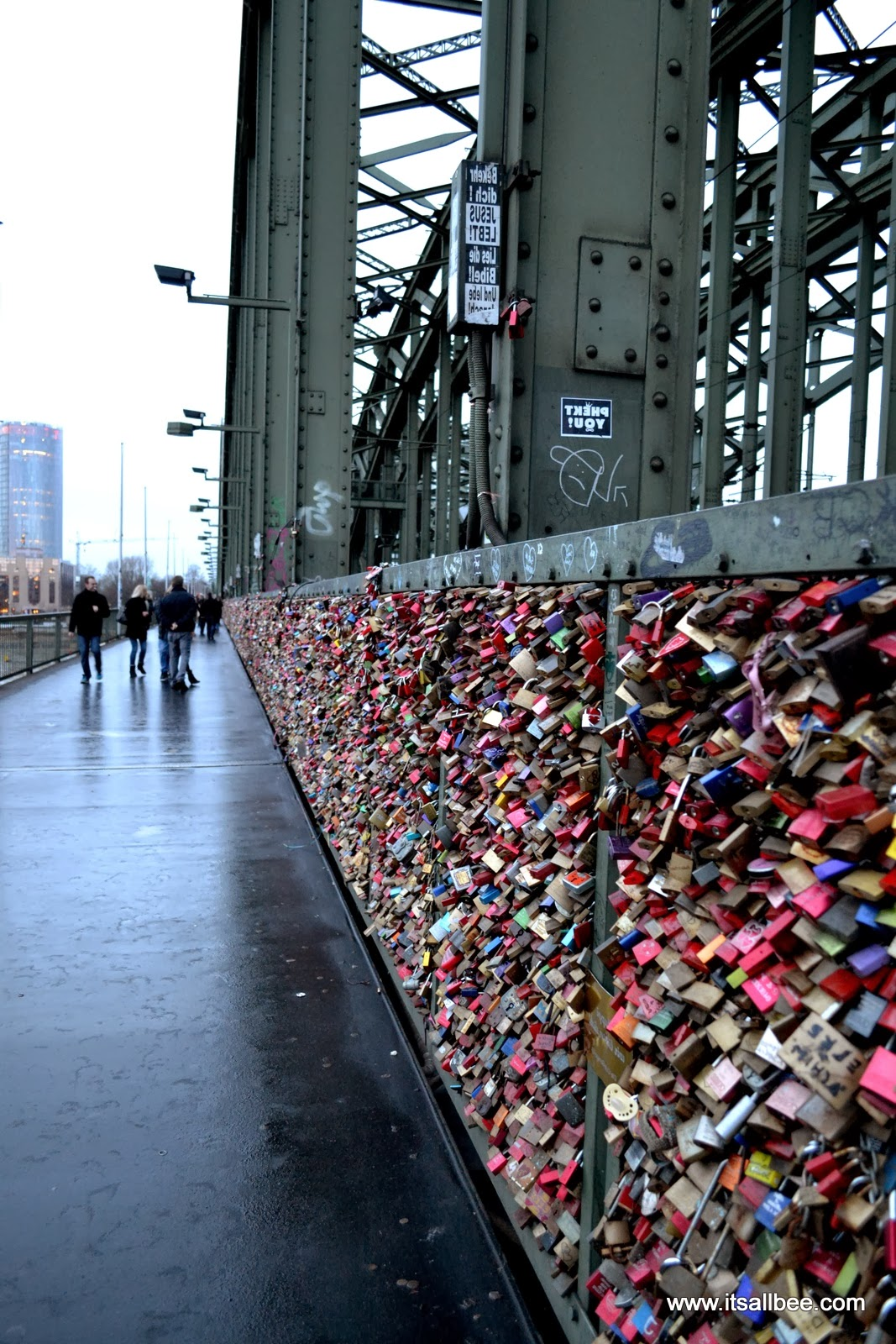 Cologne's Love Locks Bridge