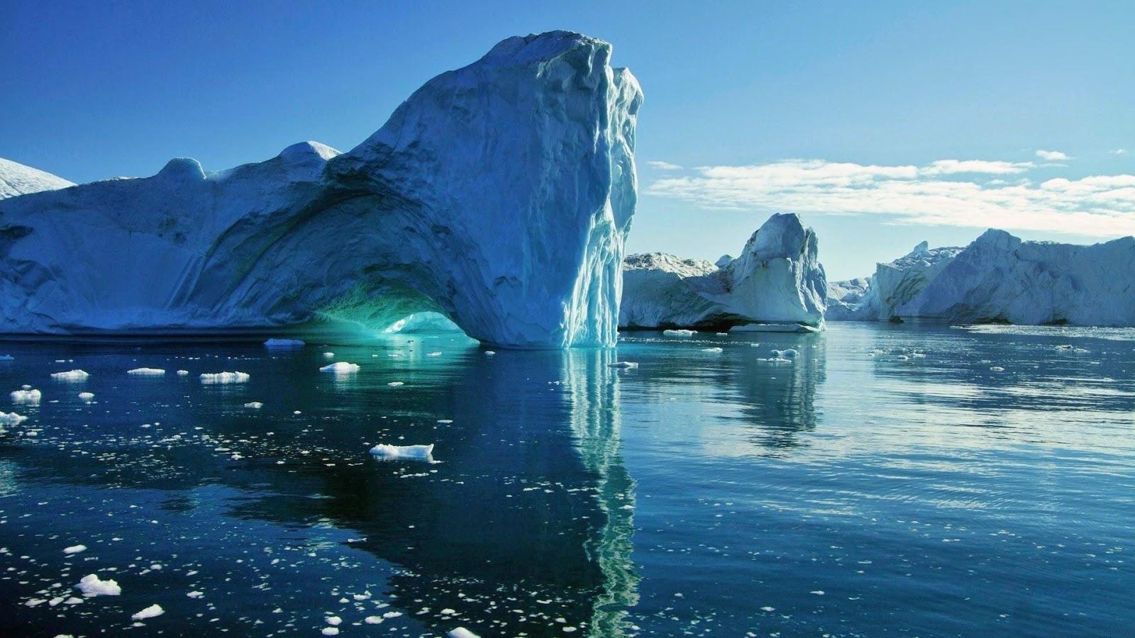 Papel de Parede Natureza Icebergs para pc hd grátis Nature desktop hd wallpaper image free