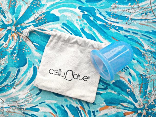 CelluBlue Антицеллюлитный вакуумный массажер
