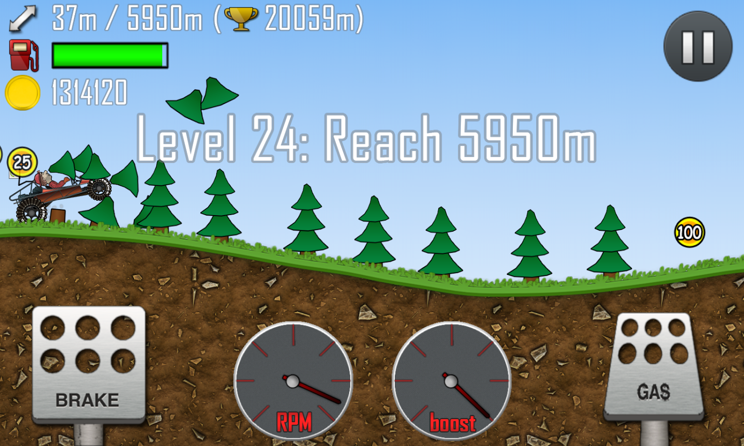 Games Android Hill Climb Racing yang Asik - 5