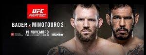 Vídeo da luta - Rogério Minotouro x Ryan Bader
