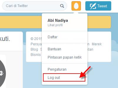 Cara Keluar dari twitter