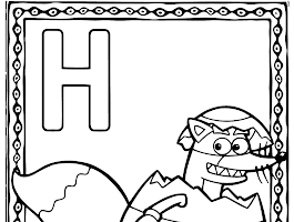 Dora The Explorer Isa The Iguana Coloring Page