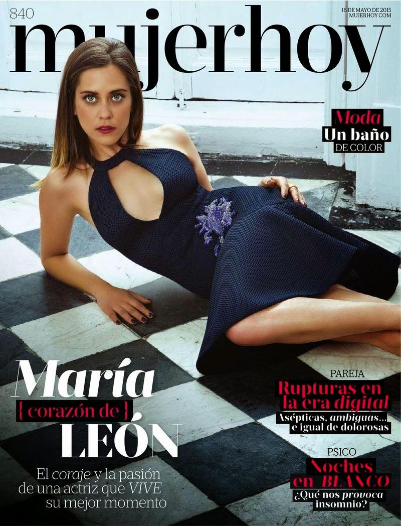 Actress @ Maria Leon - Mujer Hoy Spain, May 2015