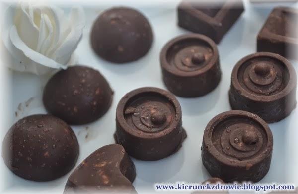 domowa czekolada, zdrowa:-)