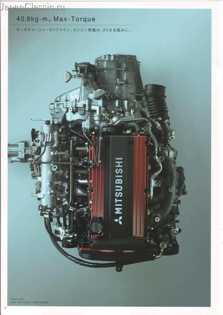 4G63T, silnik, 4-cylindrowy, ponad 100 KM z litra, turbodoładowany, lata 90, Mitsubishi, najbardziej trwałe silniki, do tuningu, wyścigów