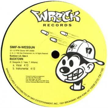 Smif-N-Wessun – Bucktown / Let's Git It On (VLS) (1994) (320 kbps)