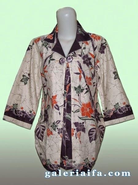 Foto Baju Batik Semi Blazer