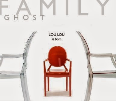Muebles la silla para ni os lou lou ghost dise ada por for Muebles la silla