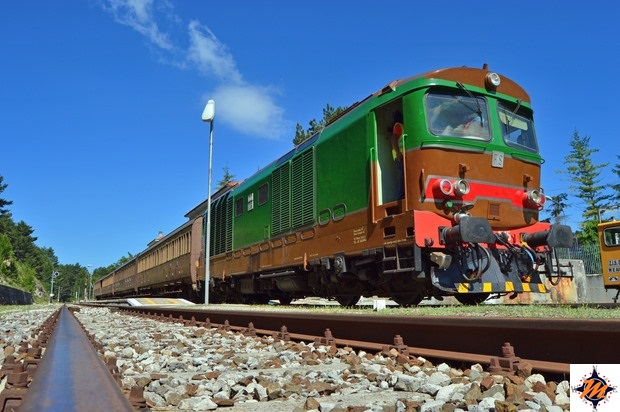 Transiberiana d'Italia, sosta alla stazione di Campo di Giove