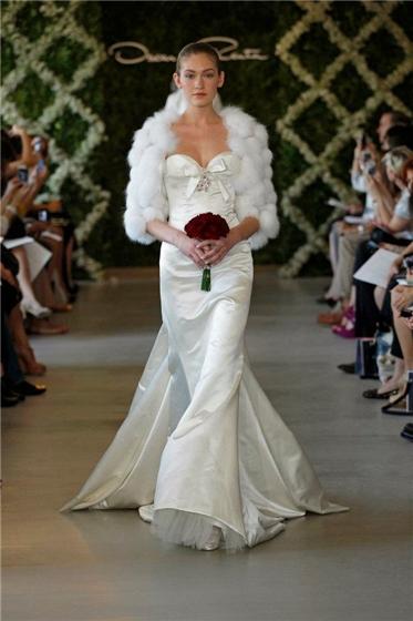 Wedding Lady Oscar De La Renta Bridal 2013