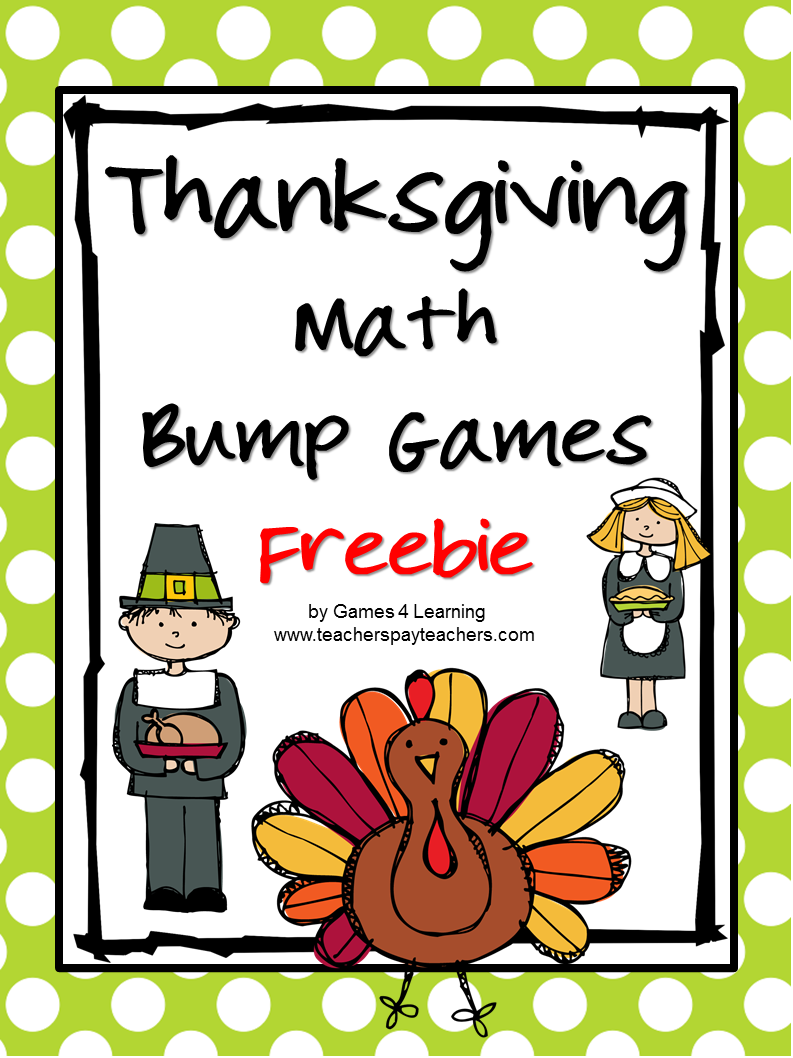 http://www.teacherspayteachers.com/Product/Thanksgiving-962211