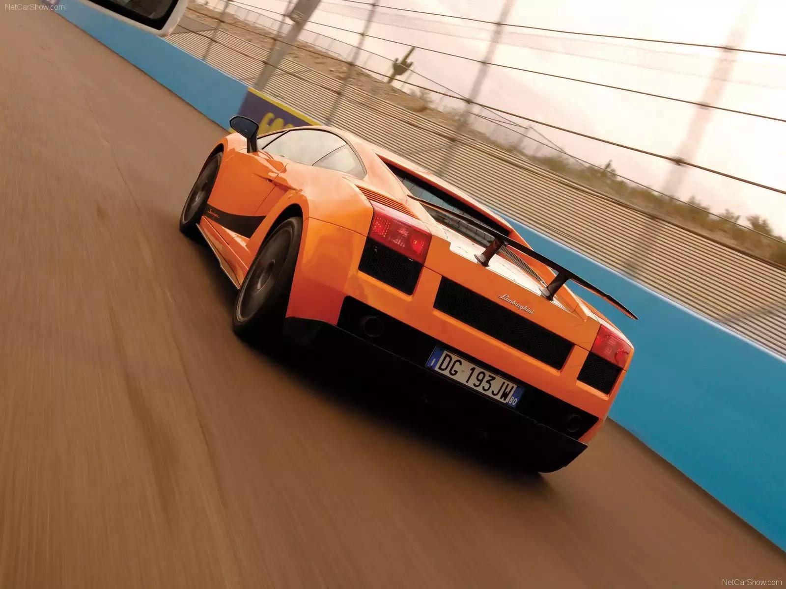 Hình ảnh siêu xe Lamborghini Gallardo Superleggera 2008 & nội ngoại thất