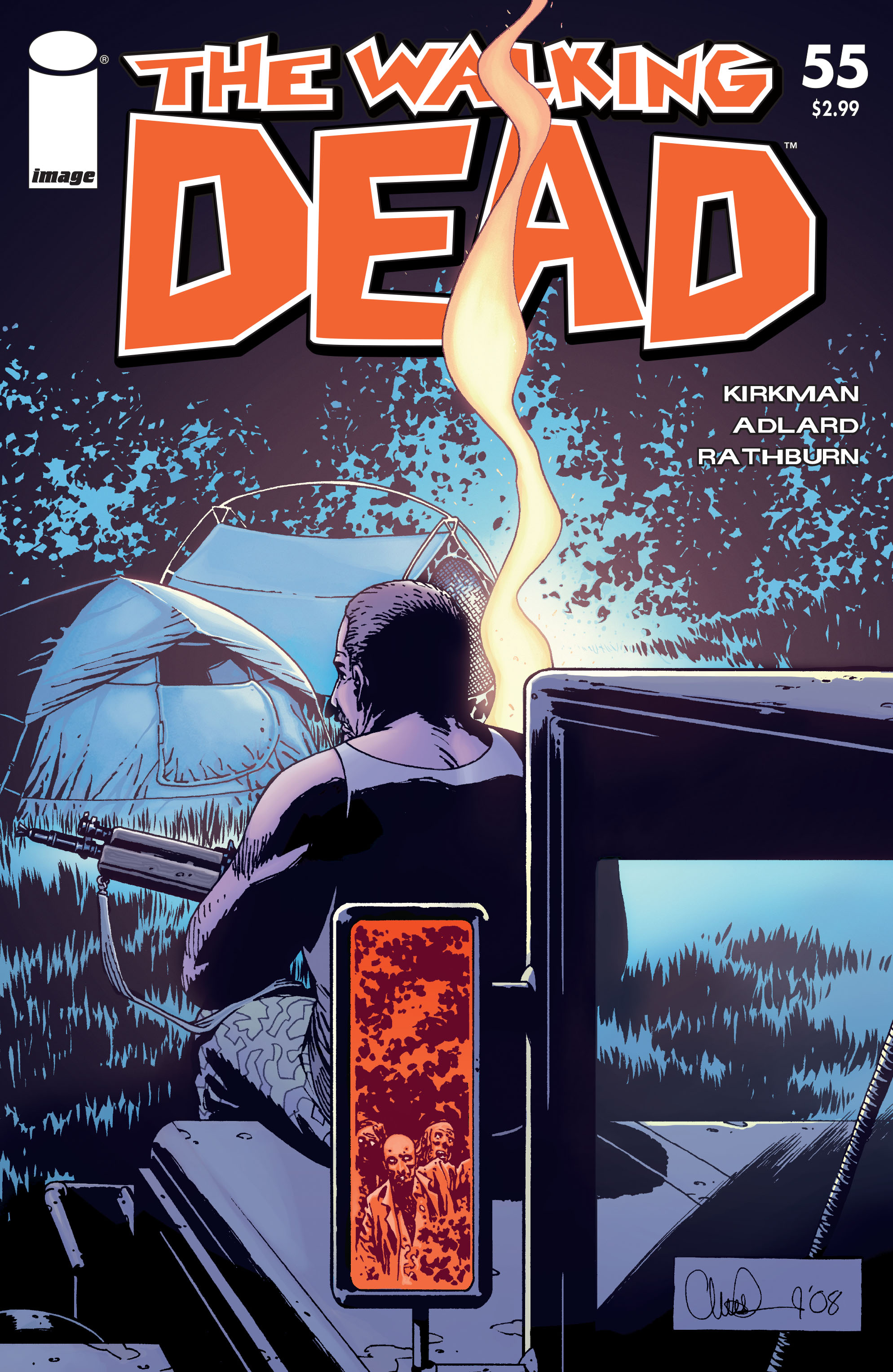 The Walking Dead Issue #55 Page 1